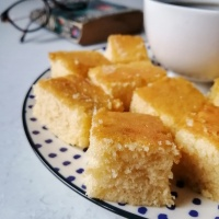Classic Butter Cake | Softest Cake with Butter or Margarine